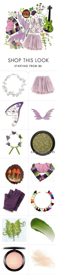 """""""Fairy Tales of Twilight Hours"""" by cherubicwindigo ❤ liked on Polyvore featuring Olympia Le-Tan, George, VANINA, Lipstick Queen, MAC Cosmetics, Eve Lom and fantasy"""