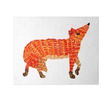 Adorable Fox Art Board Print Nursery Paintings, Nursery Art, Framed Prints, Canvas Prints, Art Prints, Original Artwork, Original Paintings, Watercolor Fox, Orange Art