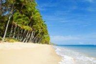 Deserted Tropical Beach in Cairns Visit us on http://brucestevensdental.com.au