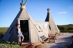 Wigwam - Six unusual places to stay