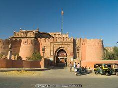 Junagarh Fort in Bīkāner, Rājasthān
