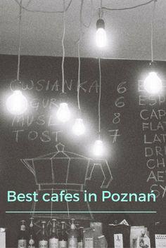 Best cafes in Poznań, Poland on floatingmyboat.com