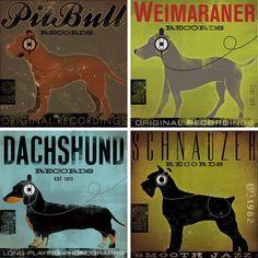 dogs + art + music = fabulous