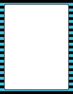 Printable blue and black striped border. Use the border in Microsoft Word or other programs for creating flyers, invitations, and other printables. Free GIF, JPG, PDF, and PNG downloads at http://pageborders.org/download/blue-and-black-striped-border/