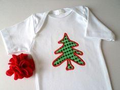 Body ou collant - Árvore de Natal - 0 a 12 anos