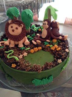 Festa dos 2 anos do Salvador: o bolo!