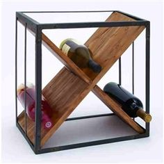 Stackable wine racks are a good idea for someone that need a solution for small home. You don't have enough space for new racks on your home but in the Tabletop, Wine Bottle Storage, Wine Bottles, Wine Caddy, Loft Kitchen, Kitchen Corner, Kitchen Store, Kitchen Dining, Bricolage
