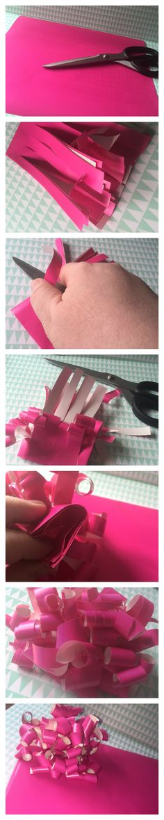How to make a bow from leftover wrapping paper - Home Decor Diy Cheap Frugal Christmas, Christmas Wrapping, All Things Christmas, Christmas Crafts, Christmas Ideas, Christmas Inspiration, Handmade Christmas, Christmas Ornaments, Easy Homemade Gifts