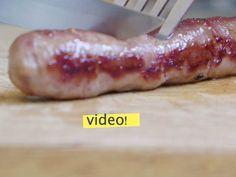 Cómo hacer salchichas caseras: una receta fácil, sin máquinas, sin aditivos, sin conservantes ni colorantes. Ideal para freezar y tener stock en casa!