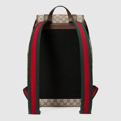 dccfae94e84620 Gucci Gucci Courrier soft GG Supreme backpack Detail 3 Gucci Men, Gucci  Gucci, Supreme
