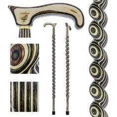 Lowest Price on Field & Stream Colortone Spiral Rope Derby Handle Walking Cane With laminate Birchwood Shaft.