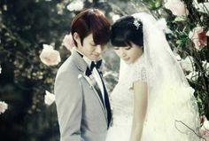 Global WGM - Heechul and Puff #Fashion #Kpop #Wedding