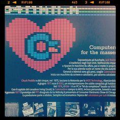 """In occasione di Internet Festival 2015 dall'8 all'11 ottobre 2015 prosegue presso il Museo delgi Strumenti per il Calcolo la mostra 64 Mania: il C=64"""" e i """"computer da casa"""" della Commodore un'esposizione sul Commodore 64, principe degli home computer e icona dell'informatica anni 80 a cura di G.A. Cignoni"""