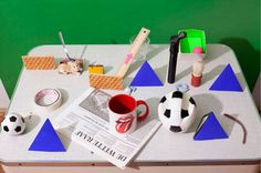 BA Teacher: Uta Eisenreich | Uta Eisenreich 'Time after Sometimes' - a world of colorful objects, love it!