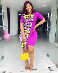 Latest Ankara Styles For Classy & Sexy Ladies - African Print Outfits 2019 By Di. from Diyanu - Ankara Dresses, Shirts & African Fashion Ankara, Latest African Fashion Dresses, African Print Fashion, Africa Fashion, Ankara Short Gown Styles, Short African Dresses, Latest Ankara Styles, Ankara Gowns, African Print Skirt