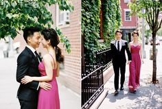 Francis & Andy | Elegant Engagement Session in New York | Snippet & Ink Snippet & Ink