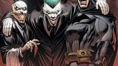 Batman is here! The end of Endgame! Climax of Snyder and Capullo's run. The final Batman vs Joker battle (or at least an extremely satisfying. Joker Batman, Joker Comic, Joker Art, Martin Scorsese, Geeks, Joker Kunst, Secret Wars, Dc Comics, Comic Art
