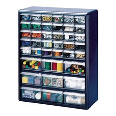 Stack-On 18-Drawer Storage Cabinet - possible lego storage. Do ...