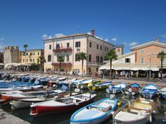 Het mooie haventje van Bardolino.