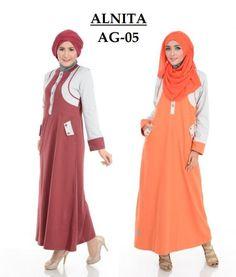 Baju Gamis ALNITA Model AG 05