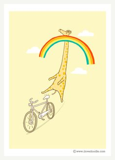 """""""Height Restriction"""" Rainbow Connection – ilovedoodle - The visual art of Lim Heng Swee"""