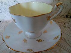 Queen Anne Fine English Bone China Tea Cup Saucer | eBay