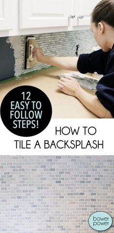 33 Home Repair Secrets From the Pros - Tile A Backsplash - Home Repair Ideas, Ho. - 33 Home Repair Secrets From the Pros – Tile A Backsplash – Home Repair Ideas, Home Repairs On A - Home Renovation, Home Remodeling, Kitchen Remodeling, Kitchen Upgrades, Kitchen Makeovers, Home Improvement Projects, Home Projects, Classic Kitchen, Diy Home Repair