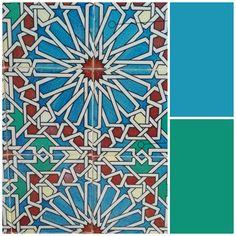 Azul turquesa y azul verdoso (2)