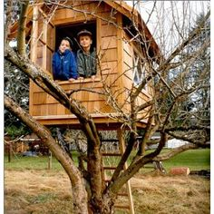 "I want something like this for Gabriel, but  with a cool bucket that they can pull up to the window. Maybe something a little bigger and a little taller so he and his friends can be the ""look out"" for our house."