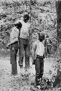 Three unidentified black victims of the Freedom Party's atrocities