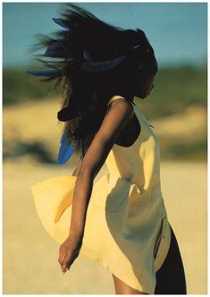 Beverly Peele by Hans Feurer, 1992