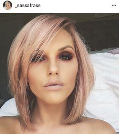Hair Colour – My hair and beauty My Hairstyle, Pretty Hairstyles, Work Hairstyles, Bridal Hairstyles, Love Hair, Great Hair, Blond Rose, Medium Hair Styles, Short Hair Styles