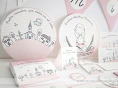 DULCESOBREMESA: IMPRIMIBLE FIESTA PRIMERA COMUNIÓN I / FIRST COMMUNION PARTY PRINTABLE I