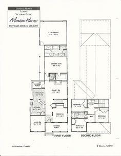 Lorena Victorian Siding Floor Plans in Celebration FL Celebration Florida, Morrison Homes, Cottage Homes, Model Homes, Second Floor, Floor Plans, Victorian, Flooring, How To Plan