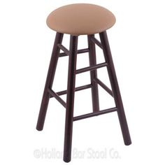 "Holland Bar Stool 30"" Swivel Bar Stool Upholstery: Allante Beechwood, Finish: Dark Cherry Maple"