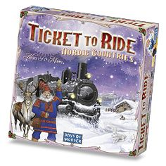 Ticket to Ride: Nordic Countries - Train / Rail Board Games