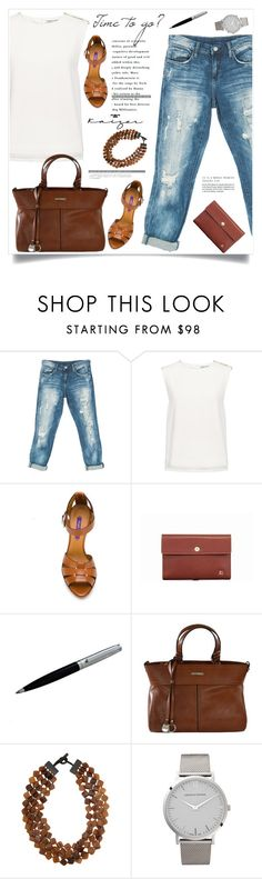 """Time to go?"" by amra-mak ❤ liked on Polyvore featuring Sans Souci, Finders Keepers, Ralph Lauren, MooMoo Designs and Larsson & Jennings"