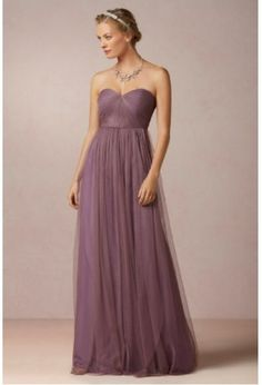 Dusty Purple lavender bridesmaid dress....just have to work on that supermodel body?......