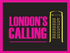 Graphic Print London's Calling