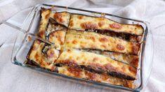 Hamursuz Kalorisi Az Patlıcan Lazanya Tarifi