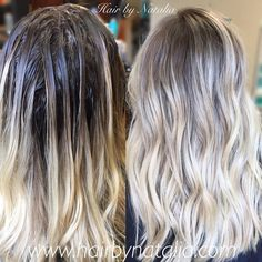Brown hair with blonde highlights, blonde roots, dark ombre hair, balayage technique, Dark Ombre Hair, Brown Hair With Blonde Highlights, Reverse Balayage, Hair Color Balayage, Blonde Color, Baliage Hair, Blonde Roots, Grow Long Hair, Natural Hair Styles