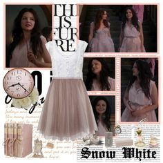 """""""Snow White- Of Once Upon A Time"""" by opelazar on Polyvore"""