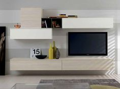 Modern Wall Unit Exential Y43 by Spar - $3,699.00