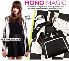 River Island - Mono Magic: black and white women's fashion trend