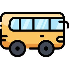 Bus free vector icons designed by Vitaly Gorbachev Vector Icons, Vector Art, Infection Control, Teaching Aids, Icon Pack, Icon Font, Cute Drawings, Icon Design, How To Draw Hands