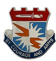 Special Troops Battalion, 3rd Brigade, 25th Infantry Division Unit Crest (By Courage and Arms)