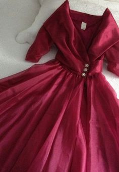 Vintage Fifties Style Fuschia Special Occasion by BarbeeVintage, $55.00