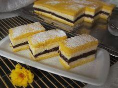 "Hellena ...din bucataria mea...: Prajitura ""Felie de lamaie"" Cheesecake, Deserts, Cheesecakes, Postres, Dessert, Cherry Cheesecake Shooters, Plated Desserts, Desserts"