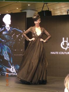 HCA Awards, Victorian, Black, Dresses, Fashion, Haute Couture, Gowns, Moda, Black People