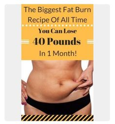 """""""The Biggest Fat Burn Recipe Of All Time"""" #Health #Fitness #Musely #Tip"""